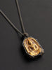 Gold Leaf Buddha Necklace
