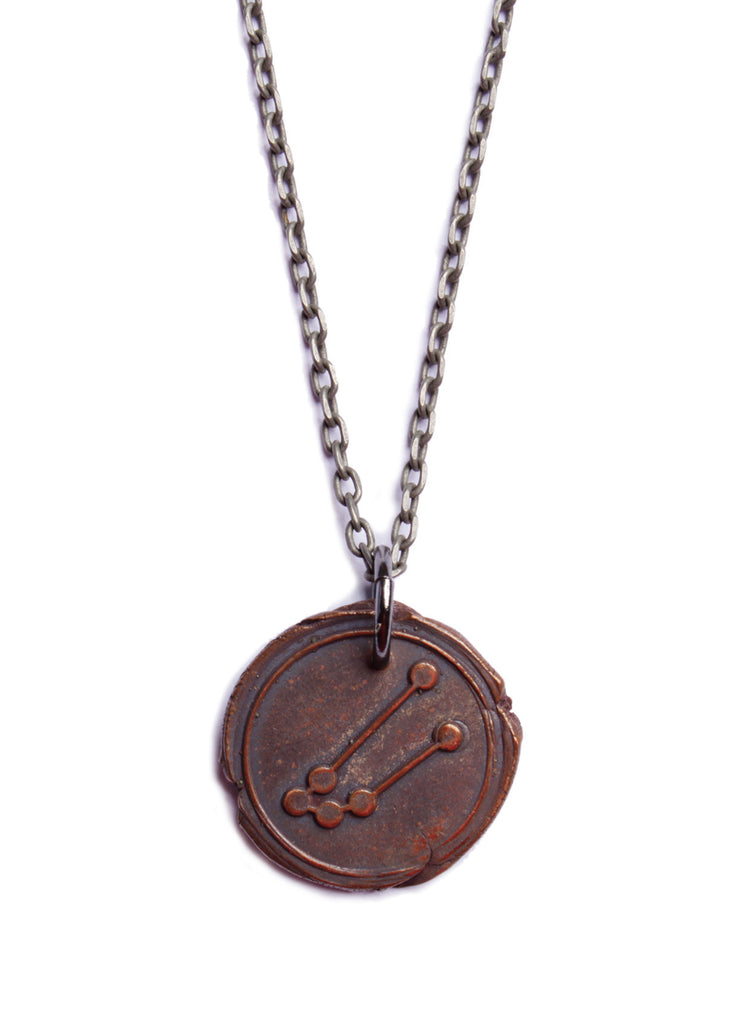 n jewel taurus zodiac hub necklace products