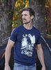 men's navy blue t-shirt