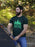mens green t shirt