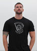 """Great Mistakes"" short sleeve black t-shirt for men"