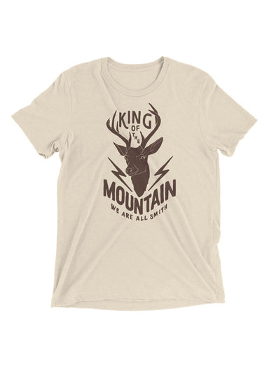 """King of the Mountain"" Short sleeve t-shirt"