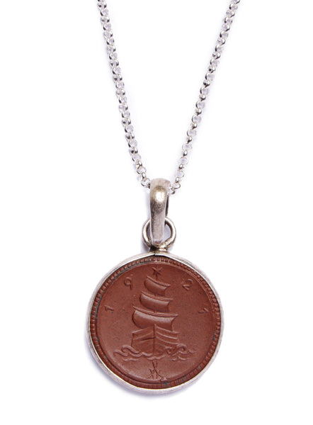 Germany 1920's Coin Necklace for Men