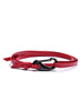 men red leather bracelet