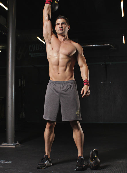 Athletic Shorts. Charcoal Gray Gym Shorts.