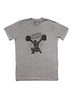 """Snatch City"" short sleeve heather gray t-shirt"