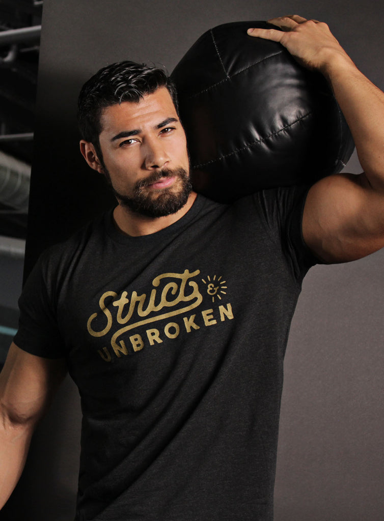 """Strict & Unbroken"" Short sleeve t-shirt"