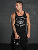 """Up Before the Enemy"" Black Tank Top"