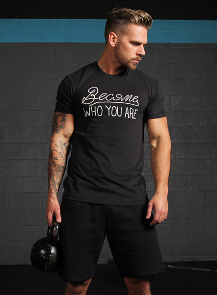 Become who You are short sleeve men's t-shirt