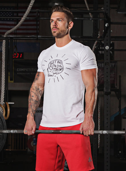 """Get Big or Die Trying"" short sleeve men's t-shirt"