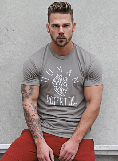 Human Potential short sleeve men's t-shirt