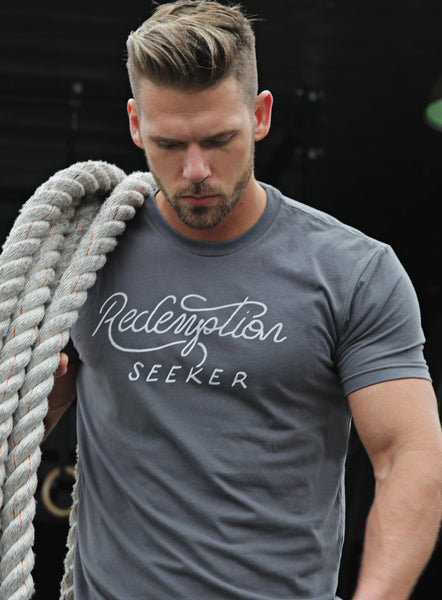 """Redemption Seeker"" short sleeve men's t-shirt"