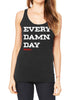 WAAS X WODdoc: Every Damn Day Women's racer back (BACK IN STOCK)