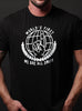 """World's First"" short sleeve black t-shirt"