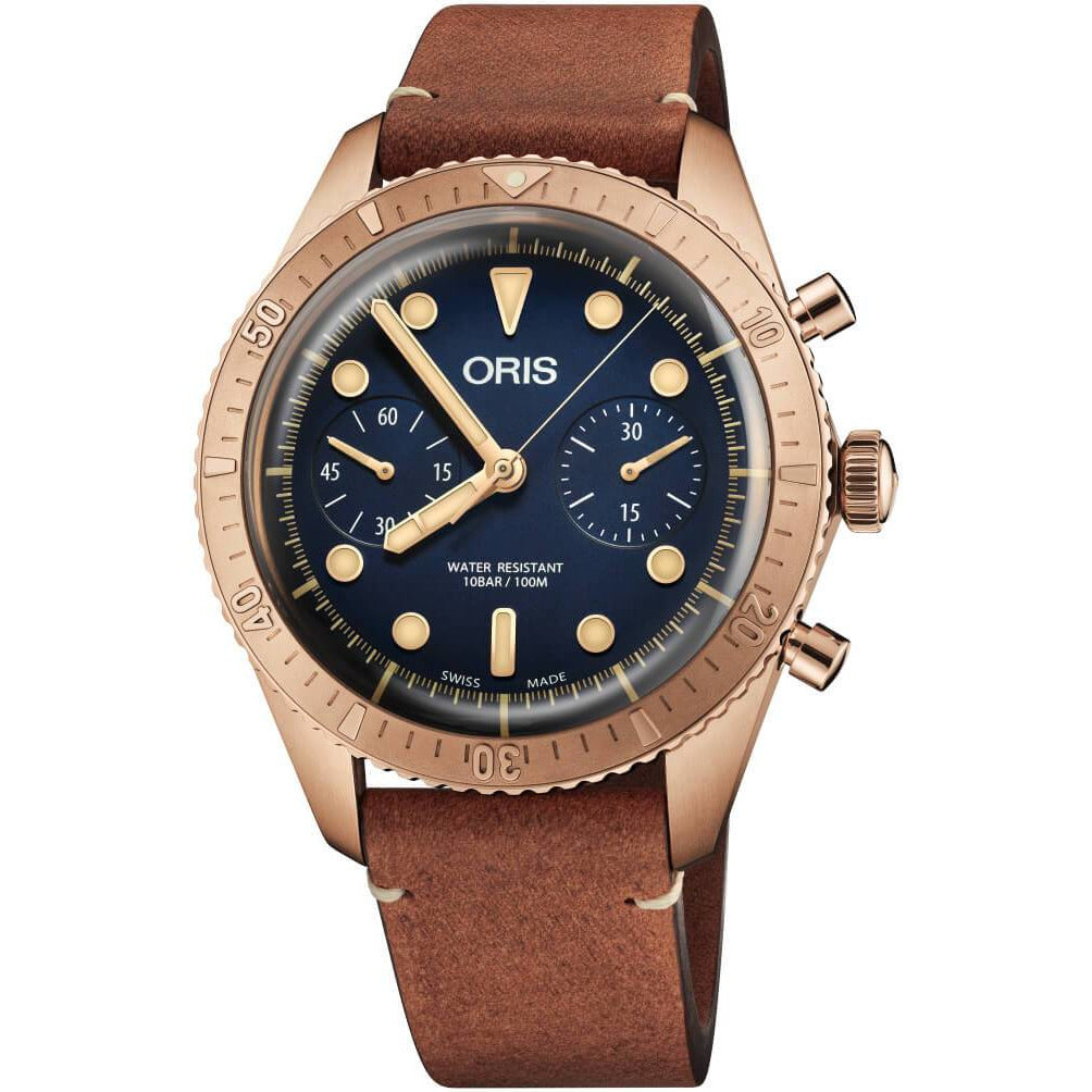 Oris Divers Carl Brashear Chronograph Limited Edition 01 771 7744 3185-SET LS