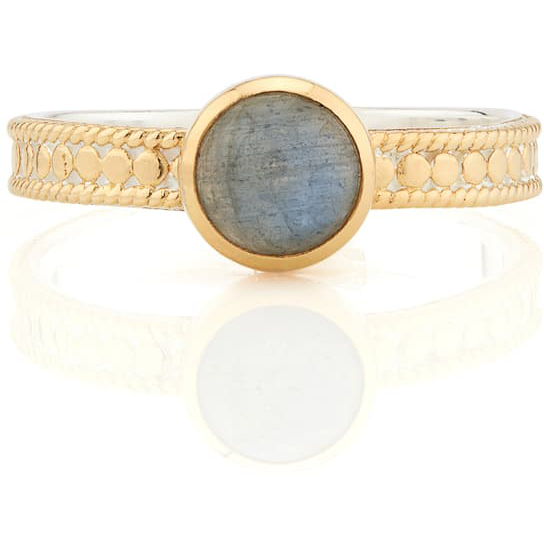 ANNA BECK LARADORITE  SINGLE STONE RING