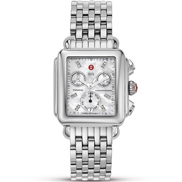Michele Deco Diamond Dial