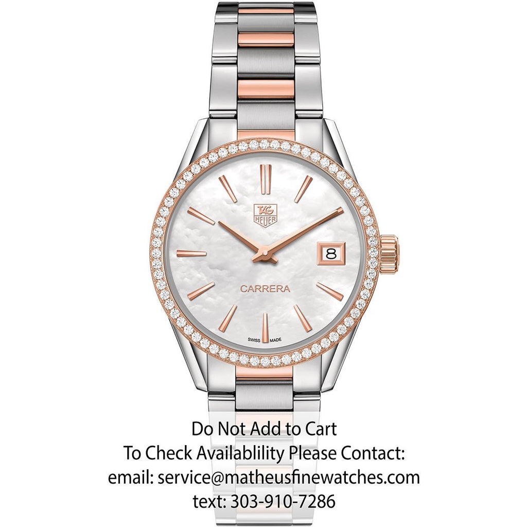 TAG Heuer Ladies Carrera Two-Tone Rose