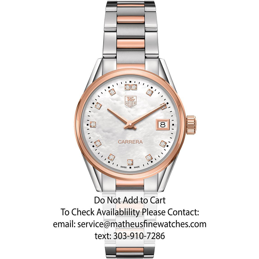 TAG Heuer Ladies Carrera Two Tone Rose