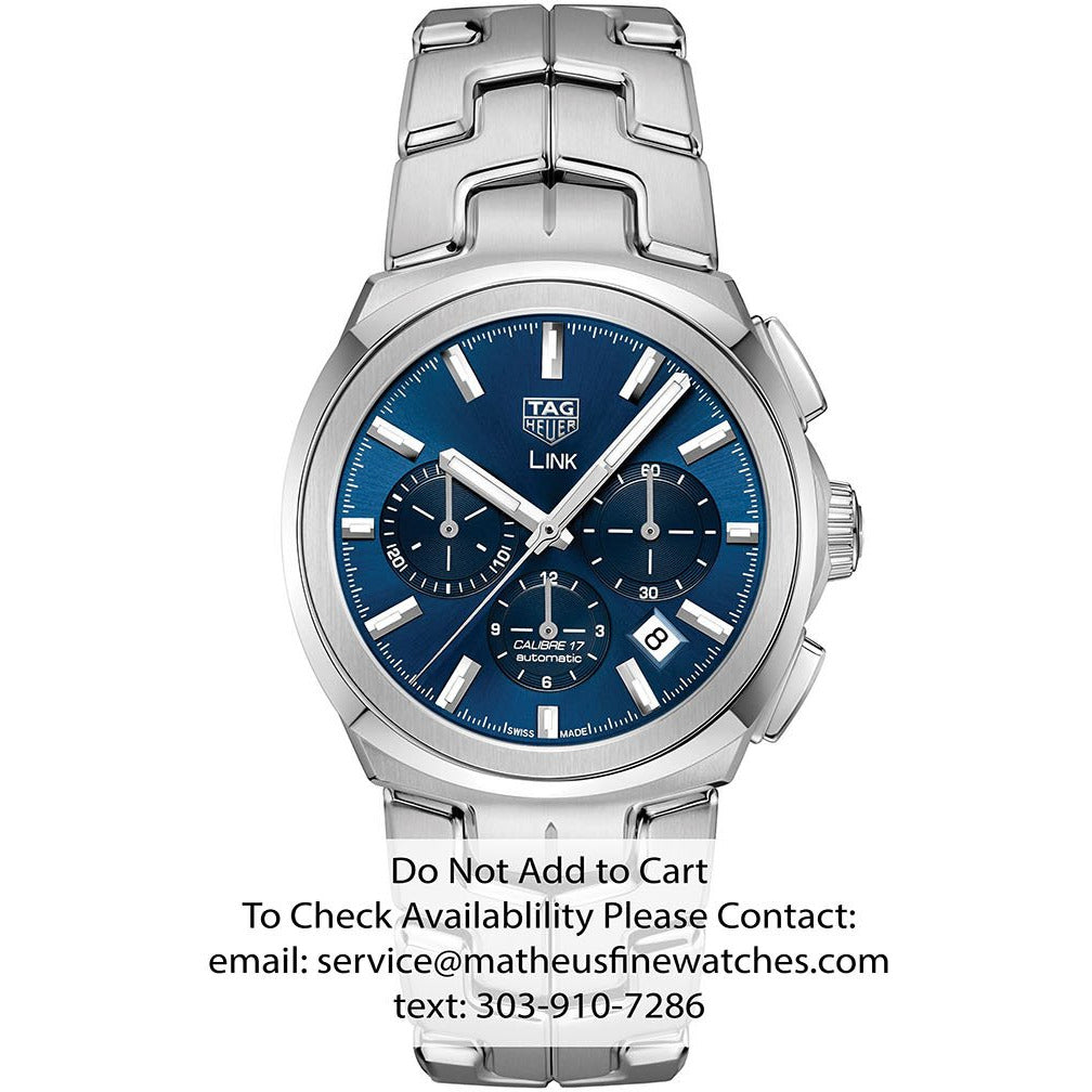 TAG Heuer Link Chronograph Automatic Watch
