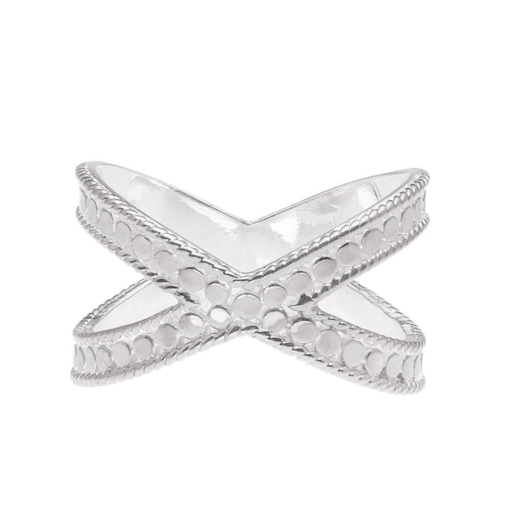 Anna Beck Classic Cross Ring