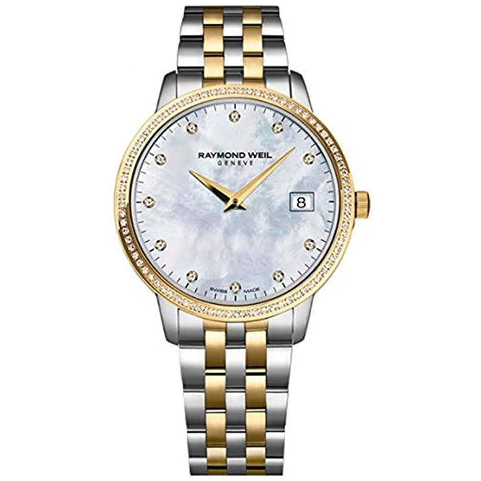 Raymond Weil Ladies Diamond Toccata Quartz Watch