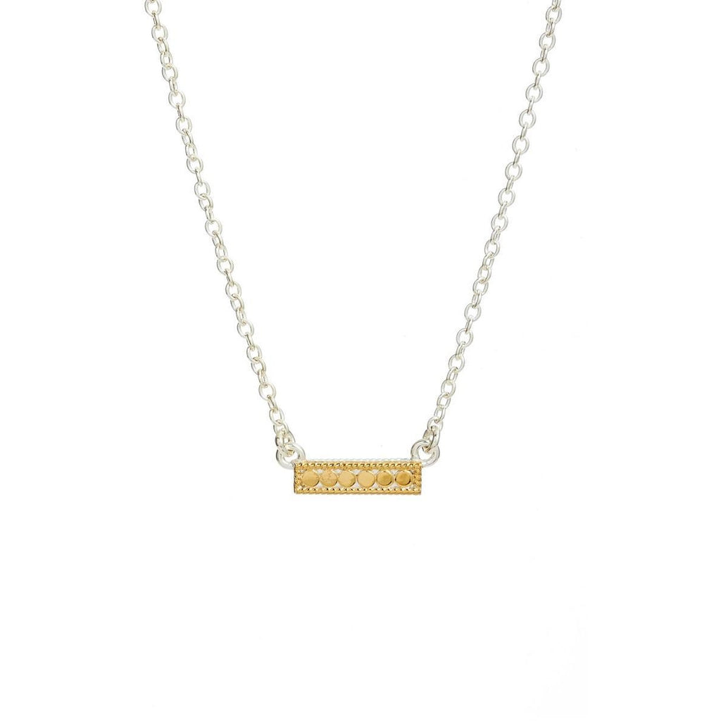Anna Beck Small Bar Reversible Necklace