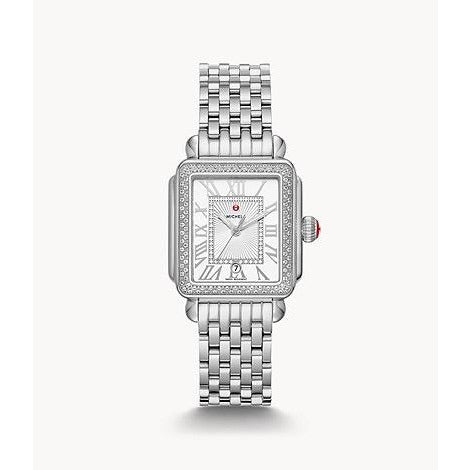 Michele Deco Madison Mid Stainless Steel Diamond MW06G000001
