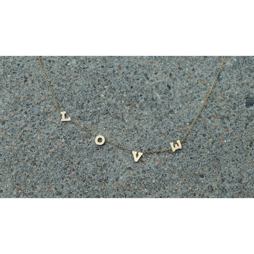 Zoe Chicco Love Necklace