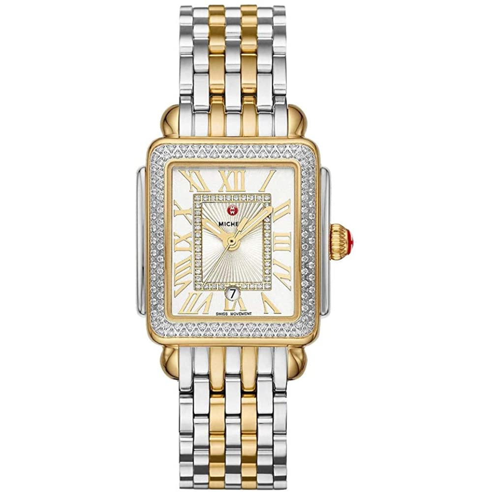 Michele Deco Madison Mid Two-Tone Diamond