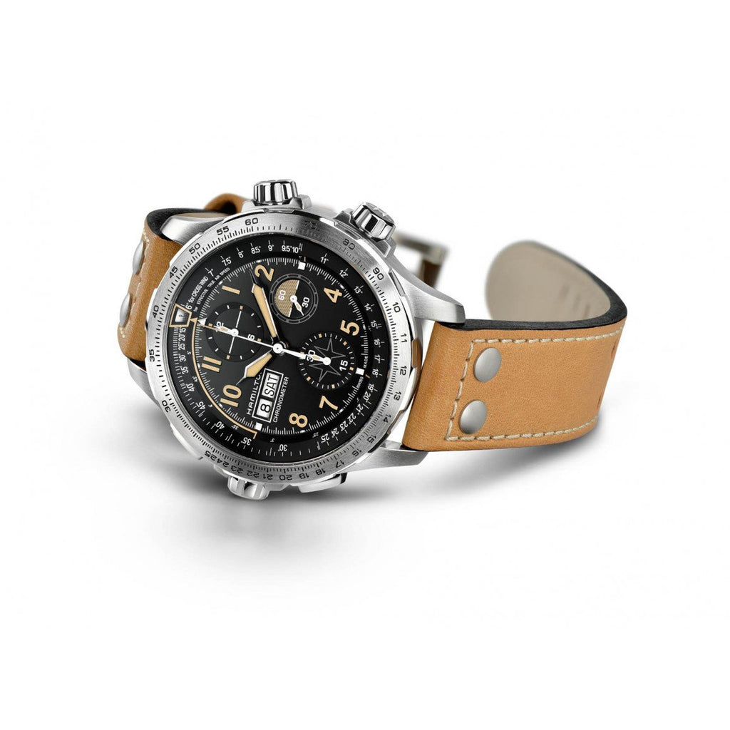 Hamilton Khaki Aviation Day Date Auto Chrono