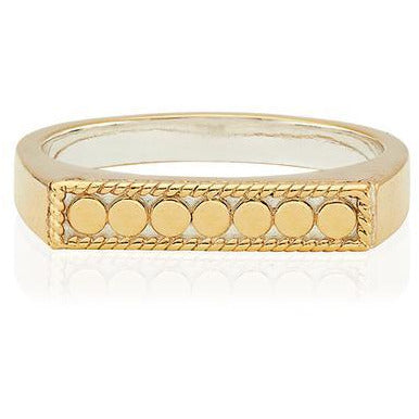 Anna Beck Dotted Bar Stacking Ring