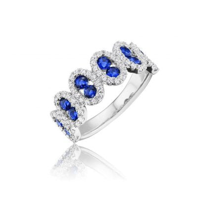 Fana Sapphire and Diamond Ring