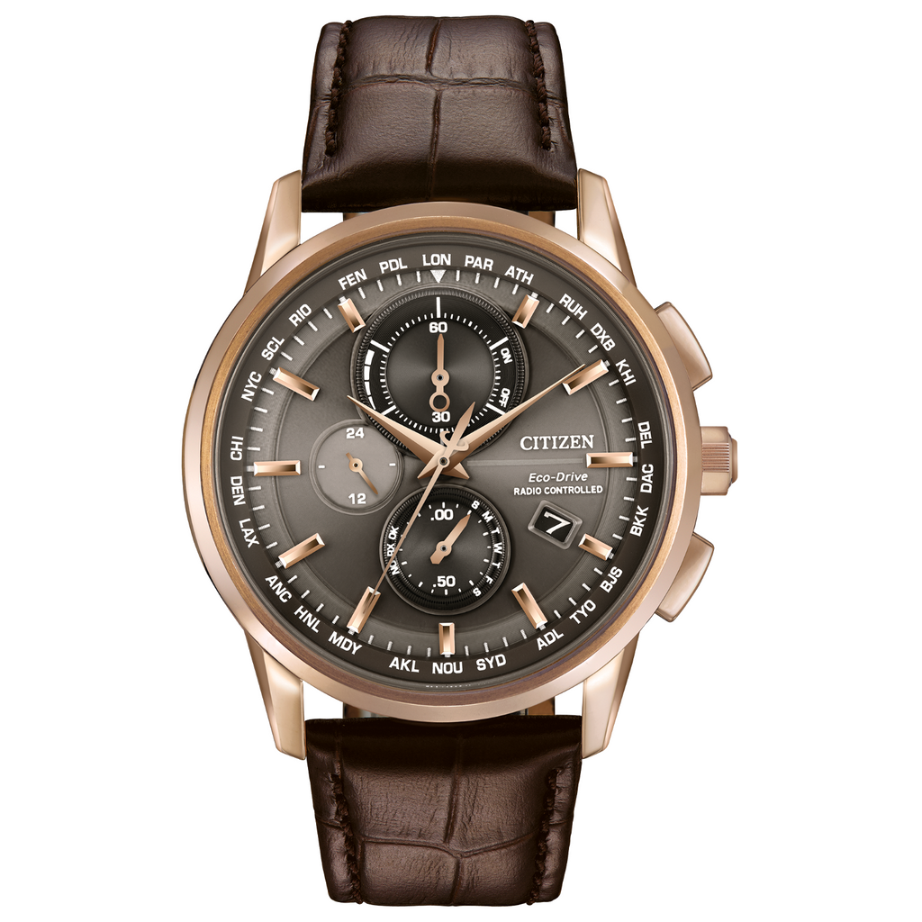 Citizen World Chronograph A-T AT8113-04H