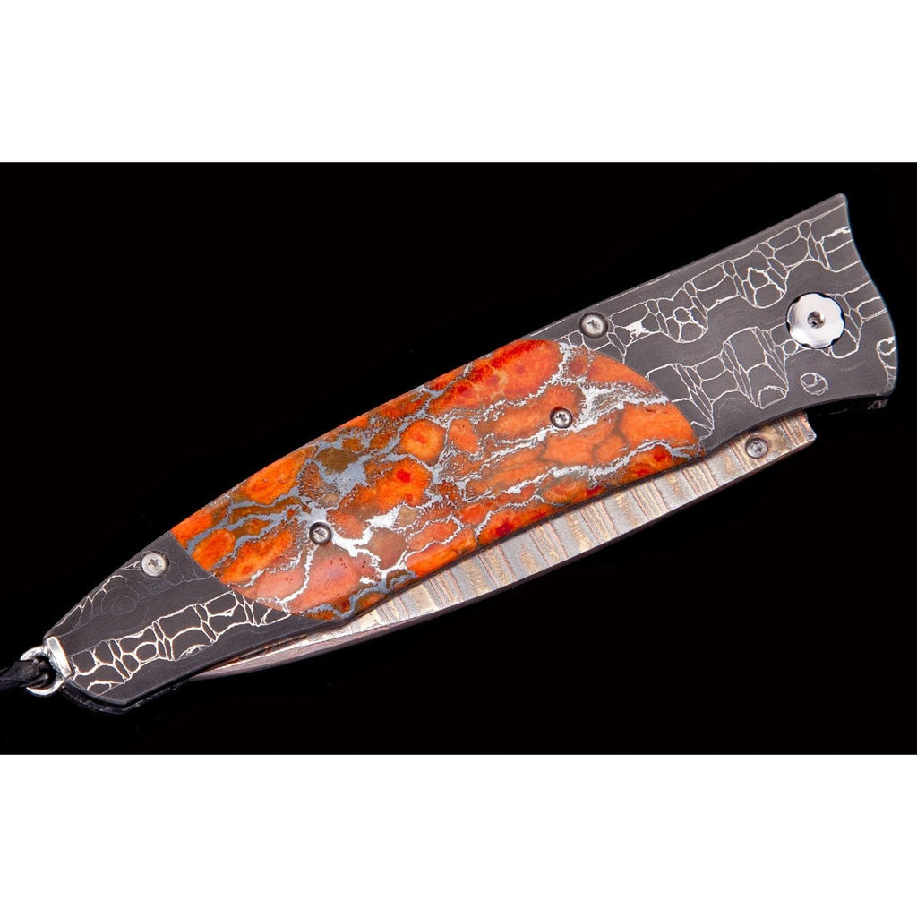 William Henry Gentac Blazing Pocket Knife