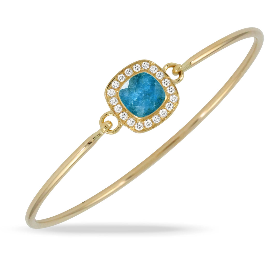 DOVES Doron Paloma Apatite Bangle B9282AP