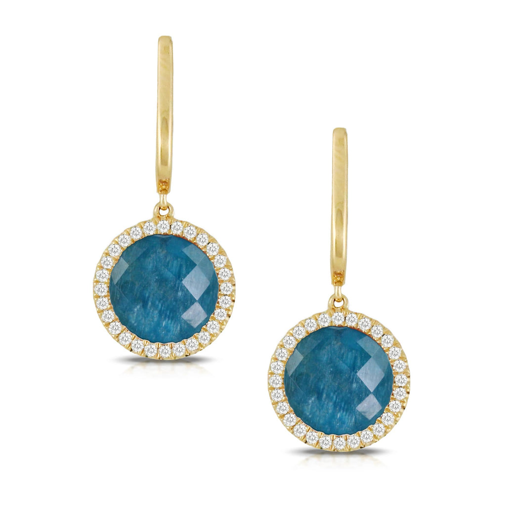 Doron Paloma Apatite Dangle Earrings