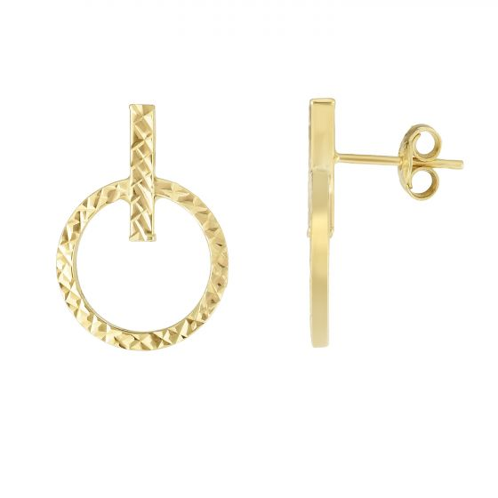 Royal Chain Group Gold Drop Earrings