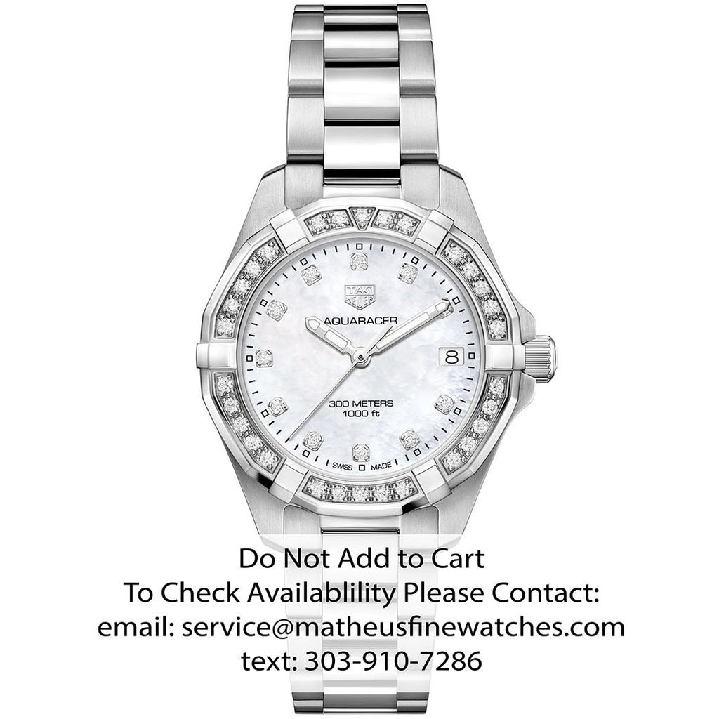 TAG Heuer Ladies Diamond Aquaracer Quartz Watch