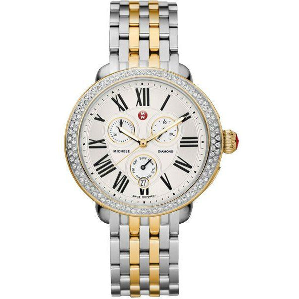 Michele Serein Diamond Two Tone Gold