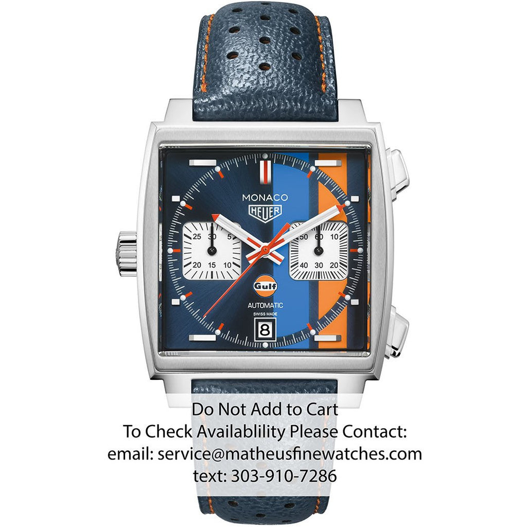 TAG Heuer Gulf Monaco Automatic Watch
