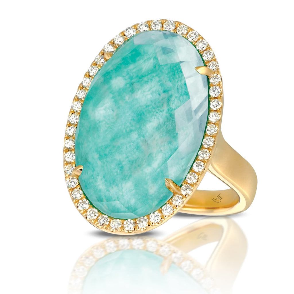 Doron Paloma Amazonite Ring