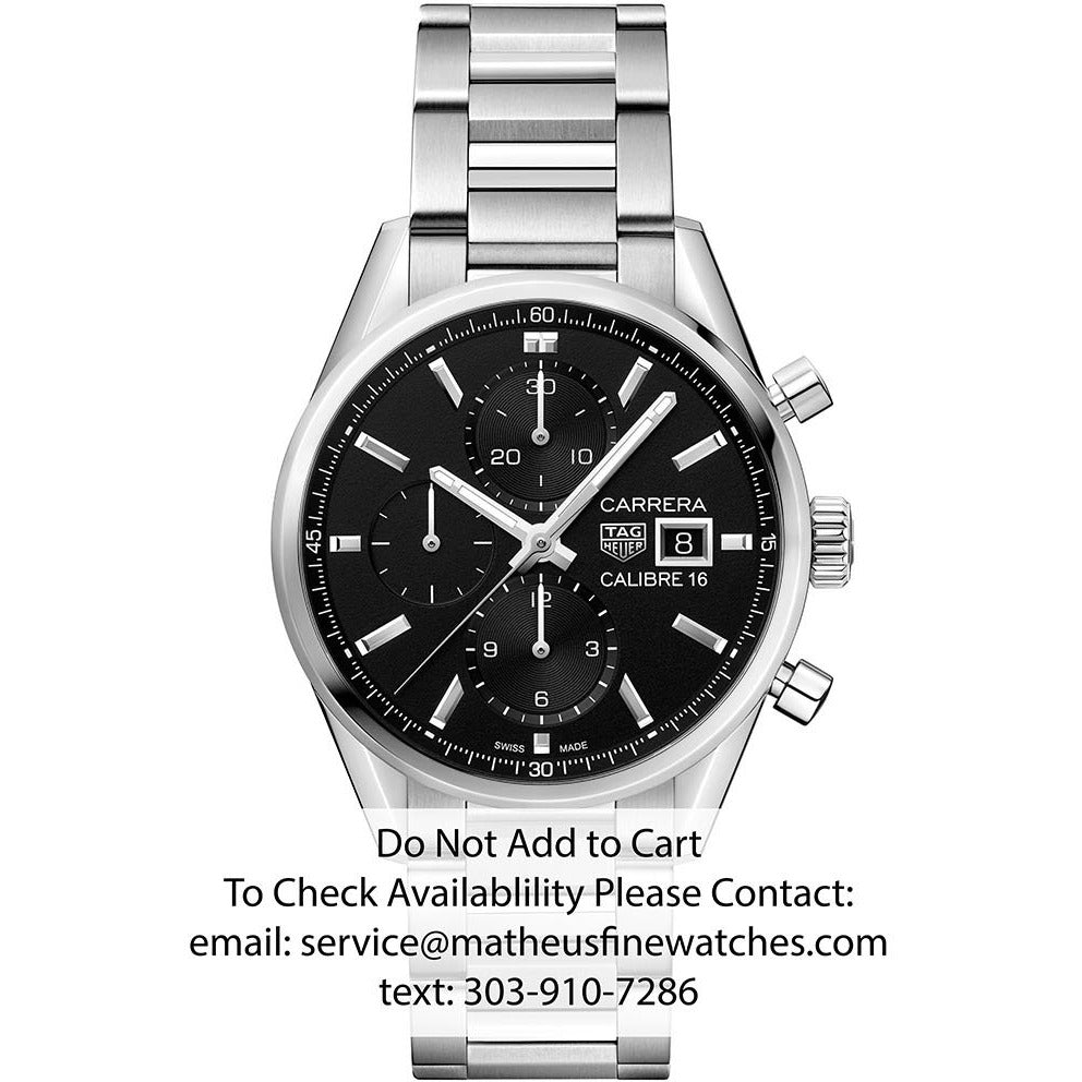 TAG Heuer Carrera Chronograph Automatic Watch
