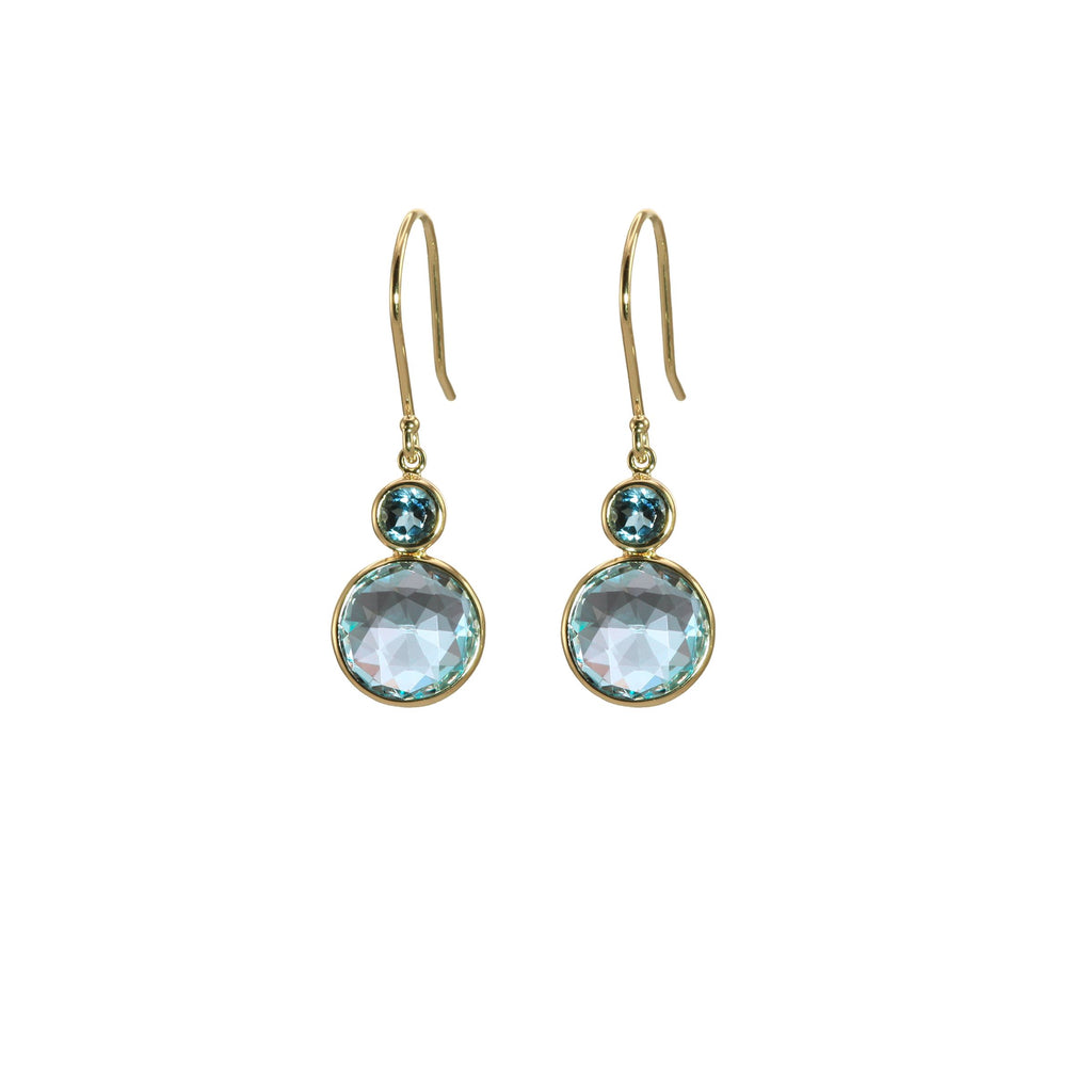 Olivia B London Blue Topaz Earrings