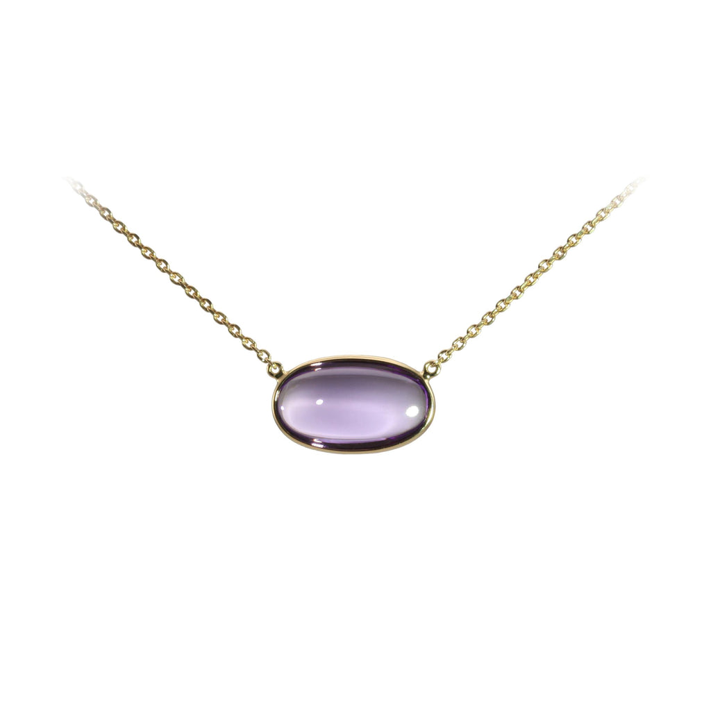 Olivia B Amethyst Necklace