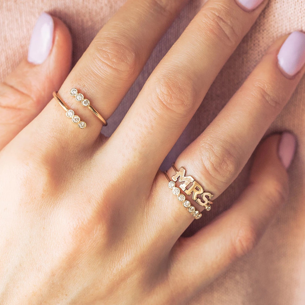 MRS. Placeholder Ring by Zoe Chicco