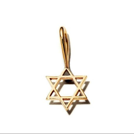 Star of David Charm by Zoe Chicco