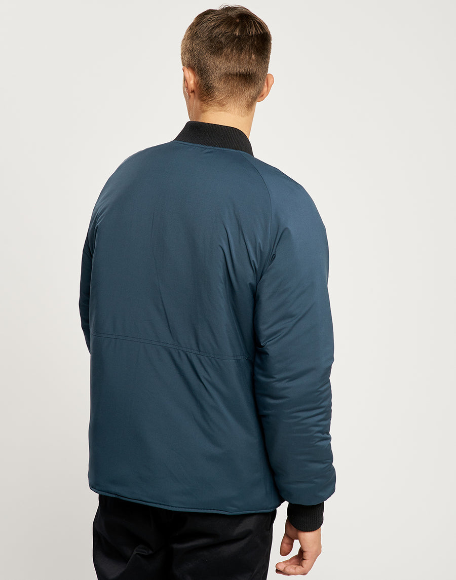 Kellan Reversible Bomber - Black and Navy