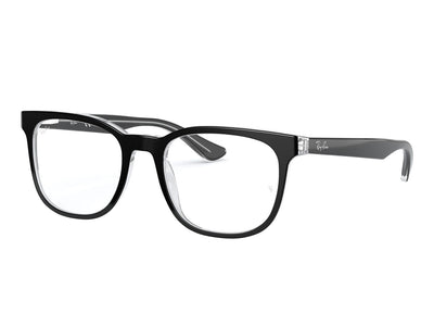 RAY-BAN RB5369 - Black/Transparent