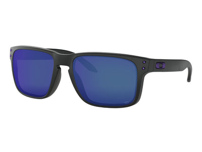 OAKLEY HOLBROOK - Matte Black Purple Icon